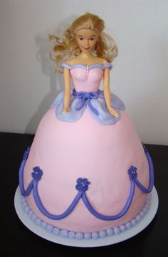 Princess/doll cake