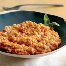 Tomato-Mascarpone Risotto