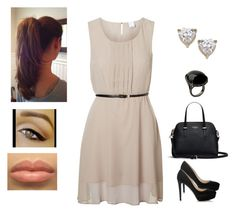 """""""Creamy Dress ♥♥♥"""" by muppets-cookie-monster ❤ liked on Polyvore"""