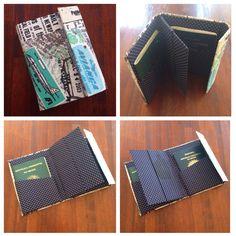 Porta-passaporte duplo