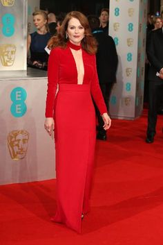 Baftas Red Carpet Best & Worst Dressed | Julianne Moore in Tom Ford
