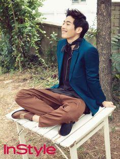 Kim Jae Won - InStyle Magazine July Issue '15