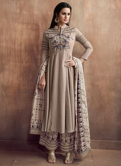 Shop for exceptional Indian Ethnic Wear Palazzo Suit Salwar Kameez from Cbazaar at best price. Purchase your favorite Indian Ethnic Wear Palazzo Suit through online from US, IND, AUS. Buy Now! Indian Attire, Indian Ethnic Wear, Indian Dresses, Indian Outfits, Palazzo Dress, Palazzo Suit, Fashion Wear, Fashion Dresses, Dressy Casual Outfits