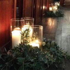 Candlelight aisle de