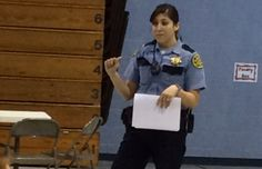 School Resource Officer Jayme DeLaRosa held special anti-bullying program.