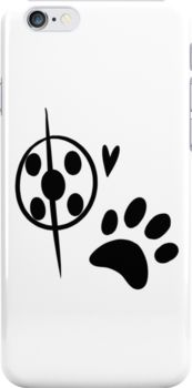 Miraculous Ladybug Chat Noir and Ladybug Signatures Snap Case for iPhone 6 & iPhone 6s
