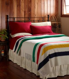 Hudson's Bay Point Blanket...I must have one of these for my future cabin!