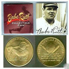 Babe Ruth Baseball Gold Coin