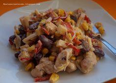 Meksykańska sałatka z kurczakiem