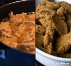 Seitanin valmistaminen - Chocochili