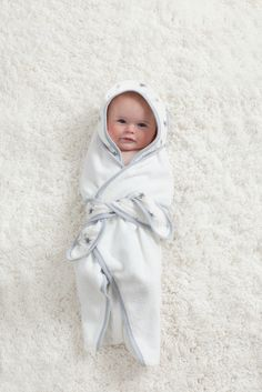 Baby Bath Towel Wrap is not only super-cozy, it's absolutely adorable! #PNpartner