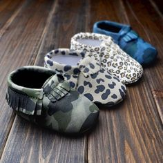 207186654 Find More First Walkers Information about Baby moccasins baby girl shoes  Tassels Leather Baby Shoes Camo