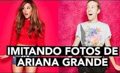 IMITANDO FOTOS DE ARIANA GRANDE | Celopan