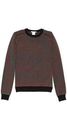 Carven Micro Pattern Sweater. $240.00. #fashion #men #sweater