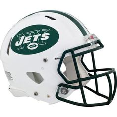 New York Jets fan? Put your passion on display with a giant New York Jets: Helmet - Huge Officially Licensed NFL Removable Wall Decal Fathead wall decal! New York Jets Football, Nfl Football, Football Helmets, Football Players, Darrelle Revis, Jerseys Nfl, Circular Logo, Saints, Viking Helmet