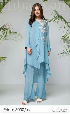 Pakistani Dresses Casual, Indian Fashion Dresses, Pakistani Dress Design, Indian Designer Outfits, Muslim Fashion, Stylish Dresses For Girls, Stylish Dress Designs, Simple Dresses, Casual Dresses