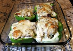 Also -- pre-boil the peppers for 5 minutes Stuffed peppers full of deli roast beef, mushrooms, onions and cheese
