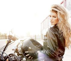 sexy motorcycle woman