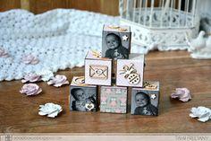 ScrapBox - уникальные материалы для скрапбукинга: Кубики. Мастер-класс с Таней-Freetany