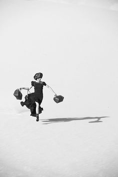 Louis Vuitton Spirit of Travel photographed by Peter Lindbergh