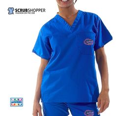 We love team scrubs for March Madness from GelScrubs!