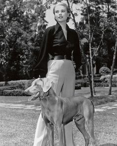 Grace Kelly with Her Puppy Dog Candid Movie Star RARE 8x10 Photo | eBay