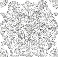 Mandala pour adultes. A vos crayons !:
