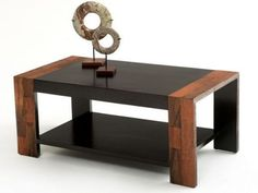 Contemporary Rustic Refined Coffee Table