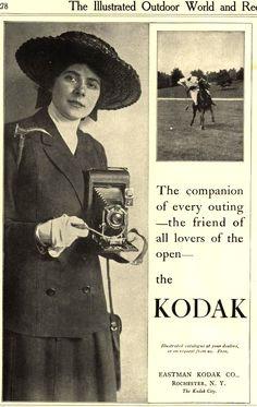 Vintage Kodak Ad - 1912