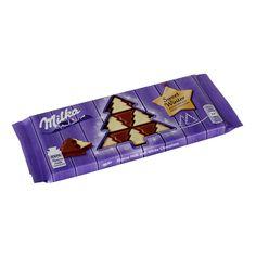 Новогодняя шоколадка от Milka - Sweet Winter. Эта шоколадка оригинально сделана - вся она сделана как будто из маленьких... Winter White, White Chocolate, Milk, Candy, Sweet, Candy Bars, Sweets