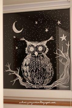 Neulich bin ich kurz nach Mitternacht auf Éva's wunderschönes Winterfenster auf ihrem Blog Emil und die grossen Schwestern gestossen. Eige...