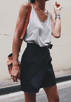 10 Simple and Modern Tips: Urban Wear For Men Hats urban fashion design products.Urban Wear For Men Ray Bans urban fashion outfits grunge. Mode Outfits, Fashion Outfits, Fashion Tips, Fall Outfits, Fashion Trends, Ladies Fashion, Skirt Outfits, Fashion Ideas, Tank Top Outfits