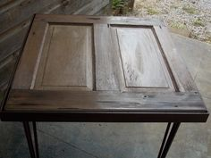Door Top Table by CollabFab on Etsy, $200.00