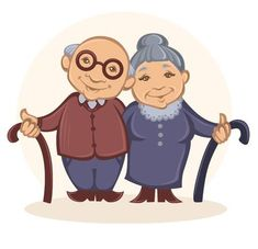 grandpa and son catoon Happy Old People, Grandparents Day Crafts, Family Drawing, Cartoon Quotes, Old Couples, Family Picnic, Rock Painting Designs, People Illustration, Grandma And Grandpa