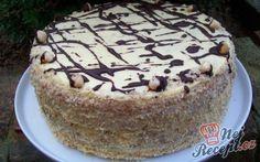 chute a vône mojej kuchyne. High Sugar, Sweet Desserts, Nutella, Cake Recipes, Sweet Tooth, Cheesecake, Food And Drink, Vegetarian, Sweets