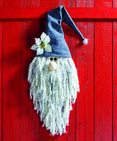 Easy Christmas decorations - how to make gnome decor - cute holiday decor ideas - winter decorations DIY home made handmade winter decor (christmas dyi decorations easy) Christmas Gnome, Christmas Projects, Christmas Ornaments, Christmas Wall Art, Diy Para A Casa, Navidad Simple, Easy Christmas Decorations, Winter Decorations, Textured Yarn