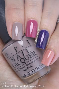 67 Super Ideas Nails Fall Autumn Opi - New Site Nails Polish, Opi Nails, Nail Polish Colors, Manicure Colors, Acryl Nails, American Nails, Super Nails, Halloween Nail Art, Winter Nails