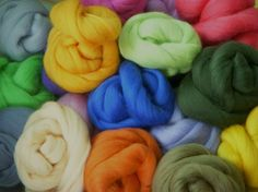 Merino Colonial Top Roving .5 Ounce by fiberinfusions on Etsy, $1.75