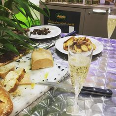 Foie's Gras and Champagne for Lunch #anuga by andre24naude #haxenhaus #people #food