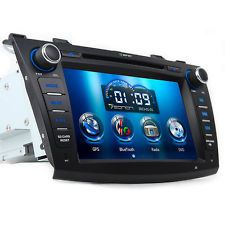 """8"""" In Dash Car DVD Player GPS NAV Bluetooth Touch iPod for Mazda3 2010 2011 2012"""