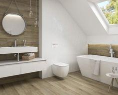 20 Ideas porcelain wood tile bathroom interior design for 2019 Wood Effect Floor Tiles, Wood Effect Porcelain Tiles, Wood Tile Floors, Wall And Floor Tiles, Wall Tiles, Tile Mirror, Wood Floor Bathroom, Zen Bathroom, Bathroom Flooring