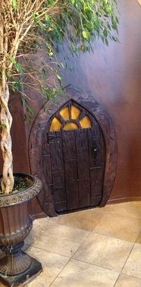 Turn an ordinary storage closet into a hobbit home. | 21 DIY Ways To Make Your Child's Bedroom Magical