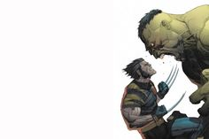 Hulk+VS+Wolverine+HD+Wallpaper