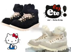 Get these cute awesome Hello Kitty shoes at Rakuten Global Market!