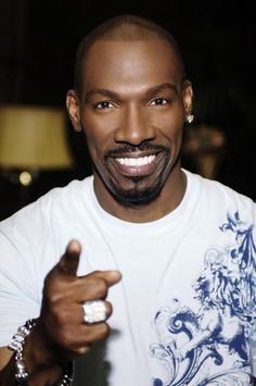 Charlie Murphy - Eddie Murphy's older brother, this guy is HI-LA-RIOUS!!!!!!