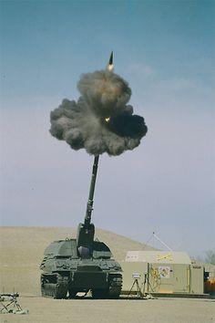 Large self propelled gun