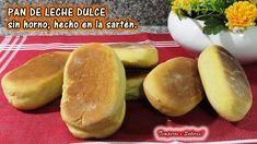 YouTube Peruvian Recipes, Cuban Recipes, Healthy Recipes, Pan Bread, Recipe From Scratch, Bread Rolls, Easy Cooking, Cinnamon Rolls, Hot Dog Buns