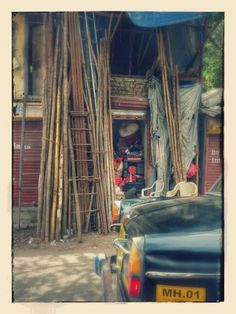 Dharavi shops....
