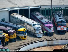 RailPictures.Net Photo: CBQ 9911-A Chicago Burlington & Quincy Railroad EMD E5(A) at Spencer, North Carolina by Jan Kohl