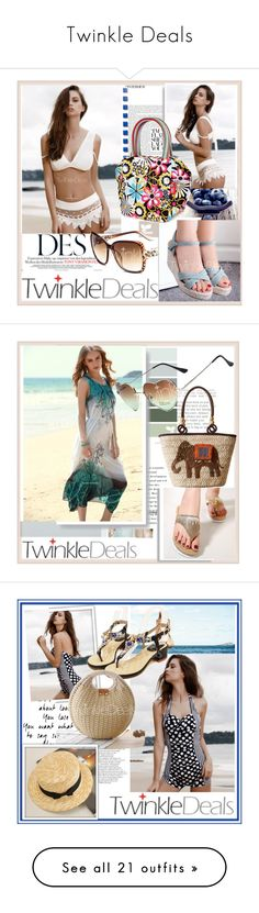 """""""Twinkle Deals"""" by damira-dlxv ❤ liked on Polyvore featuring vintage, Rika, Balmain and Oris"""